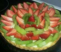 tarte aux fruits